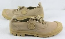 Aigle 9521 Oxford Laced Canvas Shoe   UK 10  Light Brown      039 Y
