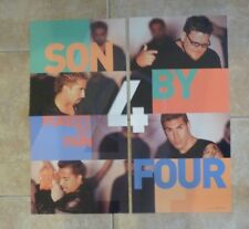 Son By 4 Cardboard LP Record Photo Flat 24X24 Poster