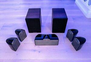 7.0 SPEAKER SET!  TANNOY SFX 5.0 SPEAKERS + CAMBRIDGE AUDIO S30 2.0 SPEAKER PAIR