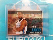 2009-2010 PANINI NBA INVEST LOT JAMES HARDEN RARE ROOKIE RC METAL STICKER 📈