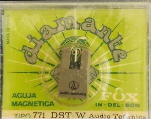AGUJA TOCADISCOS AUDIO TECHNICA 771 DST-W/FOX/DIAMANTE
