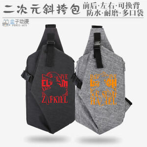 Anime DATE A LIVE Cosplay Unisex Casual Canvas Messenger Bag knapsack Gift