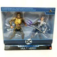 DC Comics Multi-Univers Gladiator bataille Film Aquaman vs Mor Ocean Master NEUF