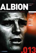 Programma CALCIO > West Bromwich Albion V Man Utd DEC 2003 Carling Cup
