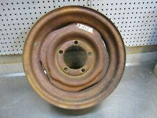 Rim 15x6 5 on 5 1/2 very solid original Fits 60's Ford Bronco Willys jeep  (TU2)
