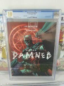 Batman: Damned #1 | 1st DC Black Label Title | CGC 10 Gem Mint White Pages | Lee