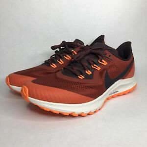 NIKE AIR ZOOM PEGASUS 36 TRAIL RUNNING SHOES AR5677-600 SZ 7.5