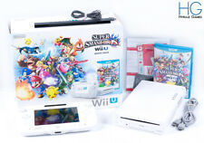 Modded Nintendo Wii U Super Smash Bros Basic Pak 8GB White Console! PAL
