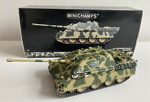Minichamps WWII Panzerkampfwagen V Jagdpanther Tank Germany 1945 1:35 with Box