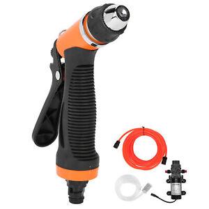 24V 100W High Pressure Washer Water Pump Sprayer Kit Portable Auto Car Wash Hot