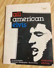 All American Elvis: The Elvis Presley Discography Memorial Edition 1976