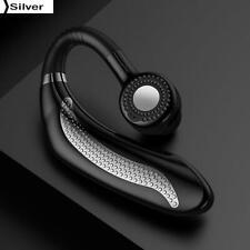 Wireless Bluetooth Earphone Singal Sports Degree Rotation Headphone Silver