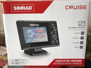 Simrad Cruise 5 Model Cruise 5 US Coastal 83/200 XDCR