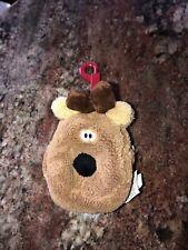 Rare Hallmark Rodney The Reindeer change purse Euc