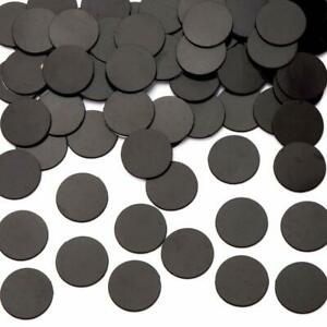 Self Adhesive Stick Dot Magnetic Rubber Round Magnet Disc Flexible Craft Hobby