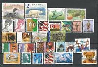 Lot mit 27 Briefmarken Weltweit; kein Europa