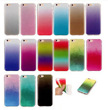 Fashion Glitter Silicone Soft TPU Bling Protect Case Cover Back Shell For IPhone