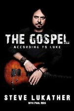 Autographed Toto - Gospel According to Luke - Steve Lukather - SIGNED book