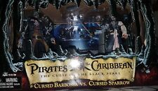 PIRATES OF THE CARIBBEAN THE CURSE OF THE BLACK PEARL FIGURE BOX SET