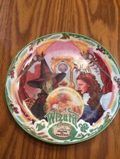 "Milnazik's Wizard Of Oz ""The Witch is Dead"" collector Plate Sept 7 1993 Depro"