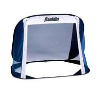 "New Franklin Junior Kids Pop Up Portable Soccer 51""x38""x32"" Training Goal & Bag"