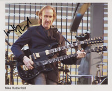 Mike Rutherford (Genesis) Signed Photo Genuine Obtained In Person