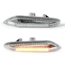 LED Seitenblinker Blinker Klarglas für BMW E90 E91 E92 E93 E60 E87 E82 E46 A34