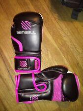Sanabul Essential Gel Training Boxing Gloves - Pink