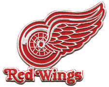 """DETROIT RED WINGS NHL HOCKEY 7"""" TEAM LOGO PATCH"""