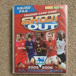 Shoot Out 2005-2006 Complete Trade Card Set & Binder