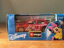 New Burago Disney Collection Minnie Mouse Renault Clio Trophy 1/43 Bburago