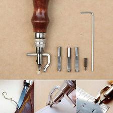 Stitching Edge Groover Leathercraft Groove Tools Adjustable Leather Handwork New