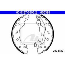 1 Jeu de mâchoires de frein ATE 03.0137-0393.2 convient à SMART