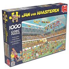 Jan van Haasteren - Football Crazy 1000 Piece Jigsaw Puzzle NEW jumbo games
