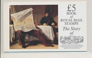 LO38014 Great Britain the times story prestige booklet MNH