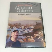 Andy Evansen: Secrets of Painting Watercolor Outdoors Art Class Instruction DVD