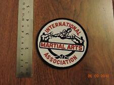 International Martial Arts Association Taekwondo Judo Karate Patch #R68