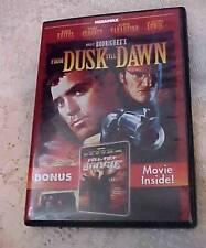 DUSK TILL DAWN / FULL TILT BOOGIE - 2 Films in One DVD Crime Drama + Documentary