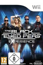 Nintendo Wii We Sing the Black Eyed Peas Experience NUOVO & OVP pacco postale