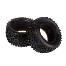 RC 1/10 Off Road Buggy Rear 2PCS Tyre,Tires Foam Fit HSP HPI Redcat 06025P