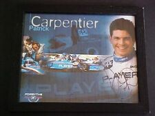 Patrick Carpentier Signed Autograph Photo Players Racing Team Indy Car 33