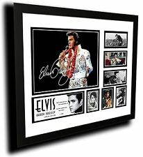 ELVIS PRESLEY 'THE KING' SIGNED LIMITED EDITION FRAMED MEMORABILIA