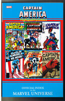 CAPTAIN AMERICA Official Index, TPB, GN, 1st, 2011, NM, to the Marvel Universe