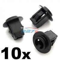 10x Plastic Screw Grommets for Nissan & Infiniti Wheel Arch Lining & Trims