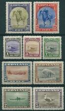 Greenland 1945 - Amerikaner-Serien - MH - 1 +5 Øre Have Small Thin - 2 Scans