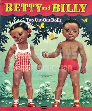 Vintage Reprint - 1955 - Betty And Billy Cut-Outs Paper Dolls - Reproduction