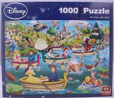 King Puzzles Disney Fun on The Water 1000 Piece Jigsaw Puzzle 05260