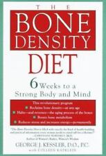 Bone Density Diet 6 Weeks Strong Mind & Body G Kessler 2000 Hardcover 0345432843