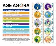 More details for sao tome & principe environment stamps 2020 mnh un united nations act now 10v ms
