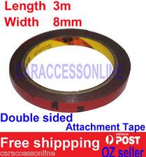 3M Genuine 4229p Automotive  Acrylic Plus Double Sided Attachment Tape 8mm